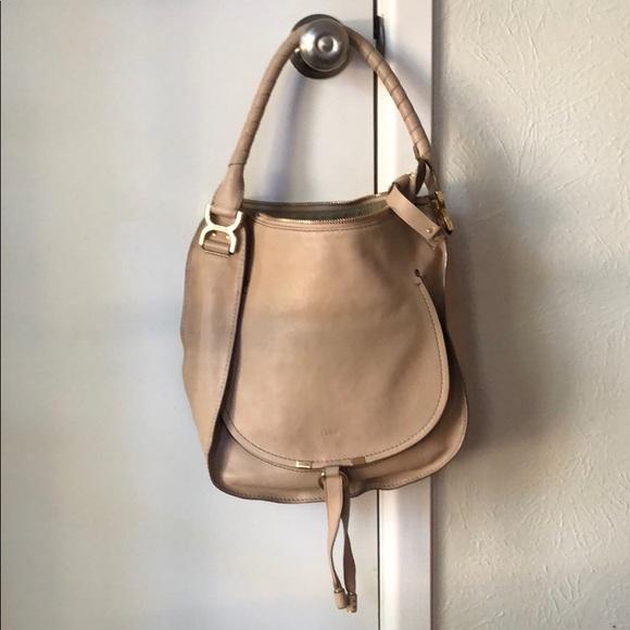 7188c2139 Chloe Handbags - Chloe 2015 Marcie Leather Hobo w/dust bag